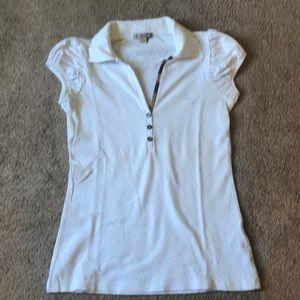 Burberry Brit polo shirt-white
